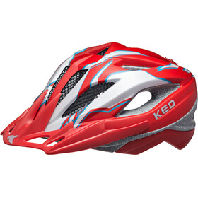 KED Street Pro Helmet Junior Red Pearl Matt
